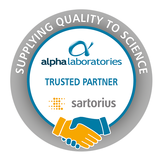 Alpha Laboratories Partnership with Sartorius